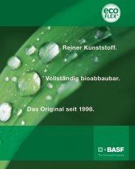 ecoflex® – Broschüre - BASF Plastics Portal