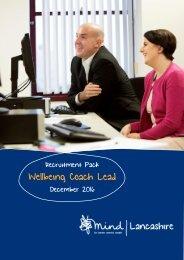 Wellbeing Coach Lead