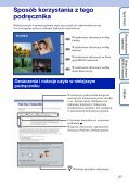 Sony DSC-HX5 - DSC-HX5 Istruzioni per l'uso Polacco - Page 2