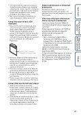 Sony DSC-HX5 - DSC-HX5 Istruzioni per l'uso Polacco - Page 4
