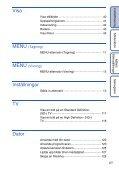 Sony DSC-HX5 - DSC-HX5 Istruzioni per l'uso Svedese - Page 6