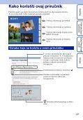Sony DSC-HX5 - DSC-HX5 Istruzioni per l'uso Croato - Page 2