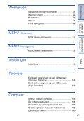 Sony DSC-HX5 - DSC-HX5 Istruzioni per l'uso Olandese - Page 6