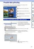 Sony DSC-HX5 - DSC-HX5 Istruzioni per l'uso Ceco - Page 2
