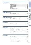 Sony DSC-HX5 - DSC-HX5 Istruzioni per l'uso Ceco - Page 6