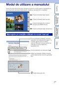 Sony DSC-HX5 - DSC-HX5 Istruzioni per l'uso Rumeno - Page 2