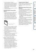 Sony DSC-HX5 - DSC-HX5 Istruzioni per l'uso Rumeno - Page 4