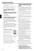 Philips Microchaîne hi-fi - Mode d'emploi - SLK - Page 3