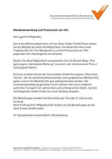 Vorteil - Steuerberaterverband Berlin-Brandenburg