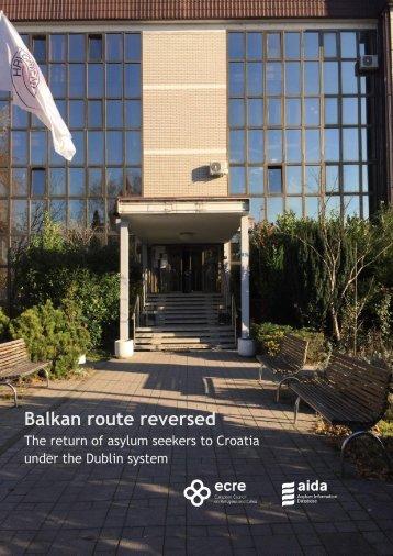 Balkan route reversed