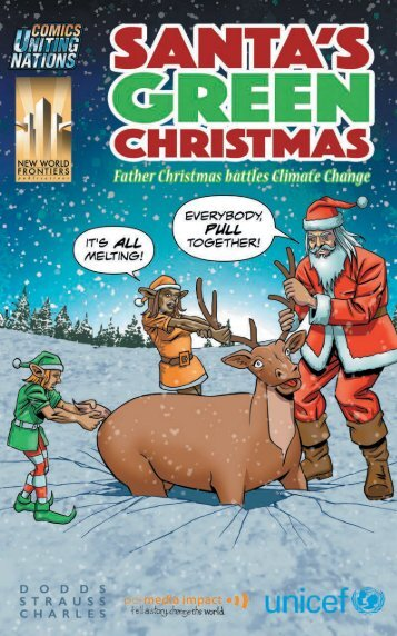 Santa's Green Christmas - Father Christmas Battles Climate Change