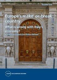 Europe's make-or-break country