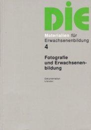 Wege zur Kunst in der Erwachsenen- bildung - Deutsches Institut für ...