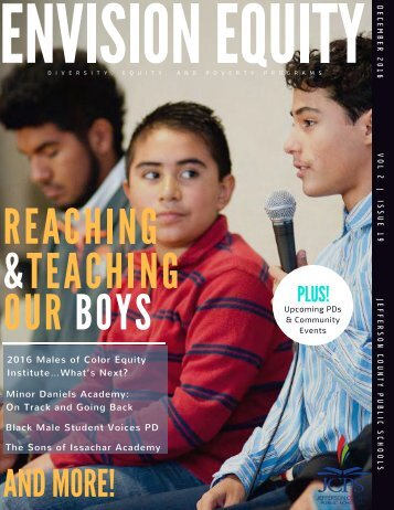 Envision Equity - Special Edition: Reaching & Teaching Our Boys