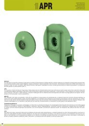 Datenblatt APRG (PDF-Datei) - Ventilatoren von KONZ