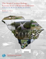 S_Flynn_South_Carolina_Deluge-Resilience_Lessons-from_a_Watershed_Disaster_Northeastern_Univ_Aug16