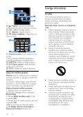 Philips 3800 series Téléviseur LED - Mode d'emploi - LAV - Page 6
