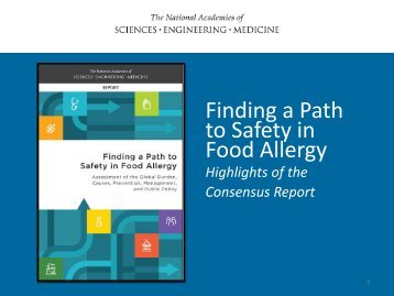to Safety in Food Allergy