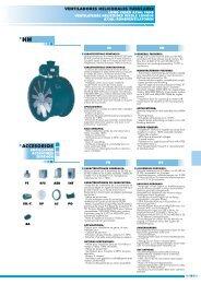 Axial-Rohrventilator Rohrventilatoren