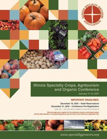 Illinois Specialty Crops Agritourism and Organic Conference