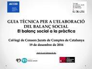 El balanç social a la pràctica