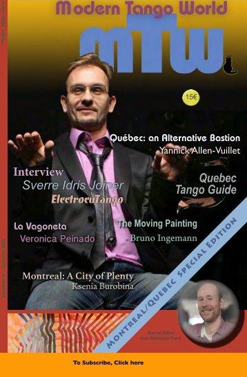 Modern Tango World #6 (Montreal, Quebec)