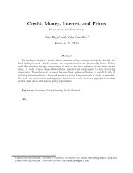 Credit Money Interest and Prices