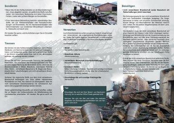 Brandschaden - Landratsamt