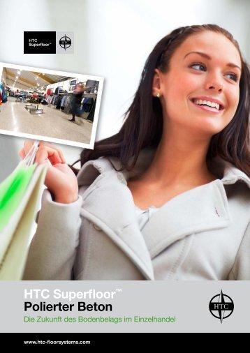 HTC Superfloor™ Polierter Beton