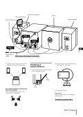 Sony CHC-P33D - CHC-P33D Istruzioni per l'uso Finlandese - Page 3
