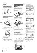 Sony CHC-P33D - CHC-P33D Istruzioni per l'uso Finlandese - Page 4