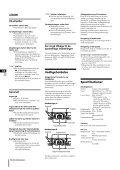 Sony CHC-P33D - CHC-P33D Istruzioni per l'uso Finlandese - Page 6