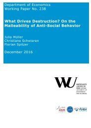 What Drives Destruction? On the Malleability of Anti-Social Behavior