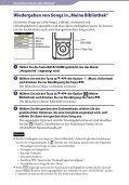 Sony NWZ-E465 - NWZ-E465 Istruzioni per l'uso Tedesco - Page 7