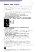 Sony NWZ-E465 - NWZ-E465 Istruzioni per l'uso Spagnolo - Page 3