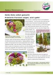 Heide-Deko selbst gemacht - Gastronomie Report