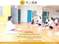 Yoga Classes - Yoga School Of India