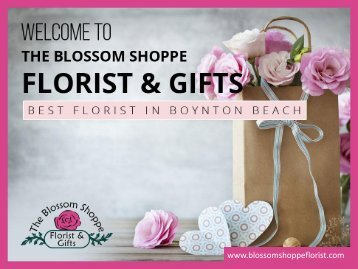The Best Florist in Boynton Beach