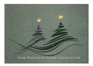 Weihnachtskarte Bäume Ringelnatz 2016