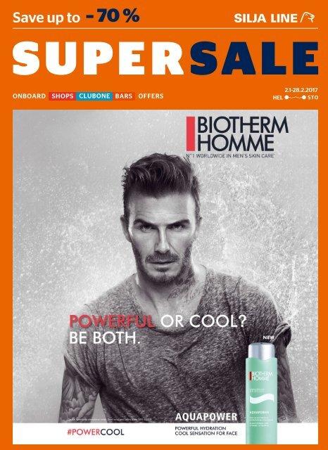 Helsinki-Stockholm Jan-Feb 2017 Silja Line Super Sale Shopping catalogue – full version