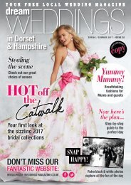 Dream Weddings Magazine - Dorset & Hampshire - issue.35