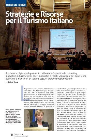 Strategie e Risorse per il Turismo Italiano