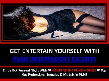 HIGH PROFILE DATING SERVICES BY PUNE ESCORTS AGENCY