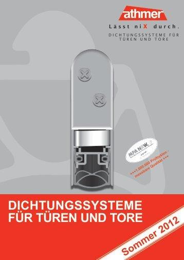 Athmer schiebet rdichtungen krakow shop for Athmer rundumdicht