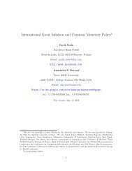 International Great Inflation and Common Monetary Policy
