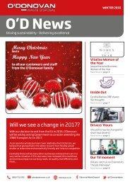 O'D News Winter 2016
