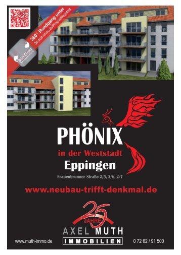 ExposePhönix Wohnen in der Weststadt