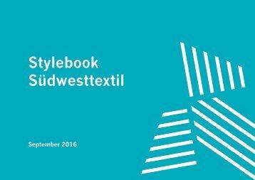 Stylebook Suedwesttextil 2016