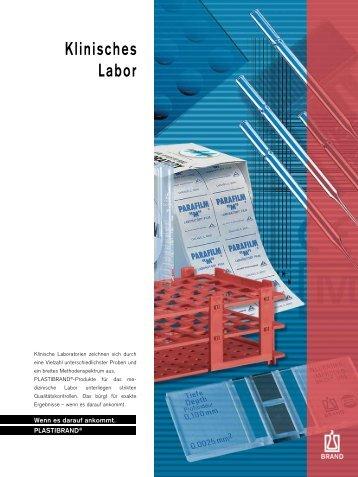 Klinisches Labor - Brand