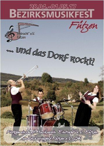 Bezirksmusikfest in Fützen